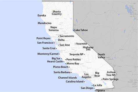 california map interactive maps of california created for visitors and travelers