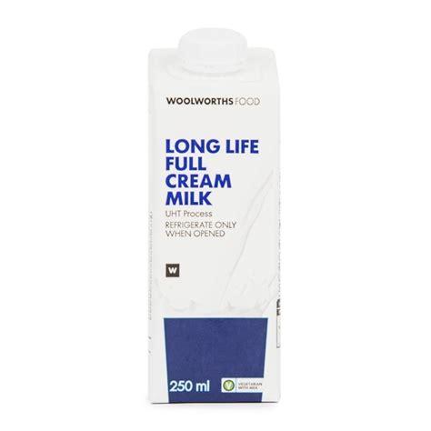 Ultra 250ml Fullcream milk 250ml woolworths co za