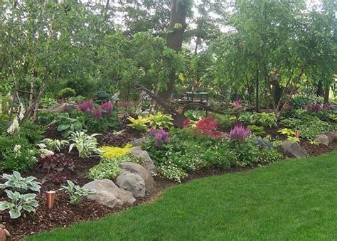Rock Garden Plants For Shade 100 1626shade Garden Gardens Landscaping Rock Garden Wisconsin Landscape Design Hosta
