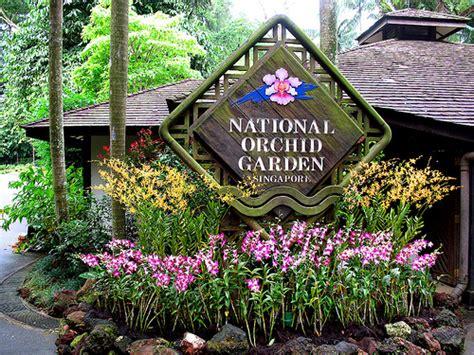 Botanic Garden Orchid Garden Singapore Botanic Gardens