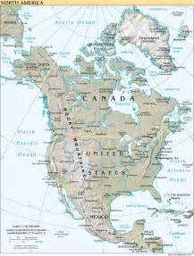 canada map with bodies of water maps of america