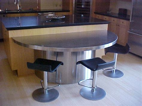 kitchen stainless steel kitchen table interior