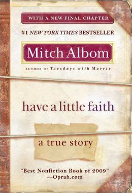 A Faith A True Story a faith a true story by mitch albom 9781401310462 paperback barnes noble