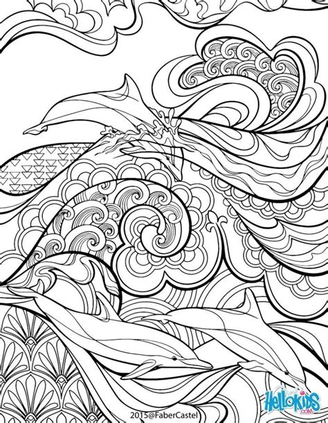 hard beach coloring pages hard coloring pages of intricate designs for adults