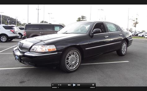 how does cars work 2011 lincoln town car engine control 2011 lincoln town car signature limited start up exhaust and in depth tour youtube
