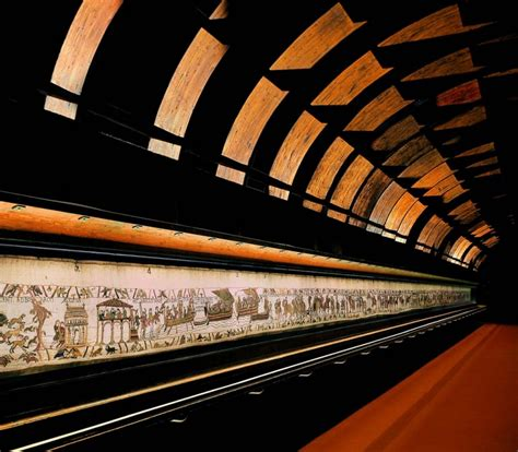 Tapisserie De Bayeu by Bayeux Wandteppich Kathedrale Dday Museum Unesco