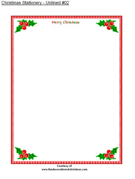 free printable christmas paper templates free printable stationery free printable unlined