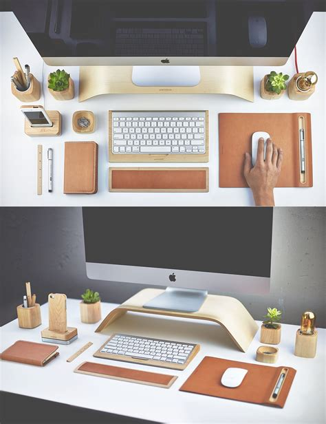 Creative And Inspirational Workspaces Desk Organized