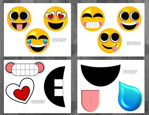printable emoji templates printable emoji birthday party decorations to create an