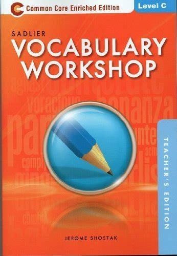 vocabulary workshop jerome shostak unit 8 quizlet sadlier oxford vocabulary workshop answers level b unit 9