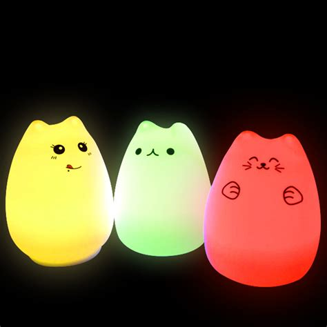 usb cat night light lightme led cat night light usb l cute colorful