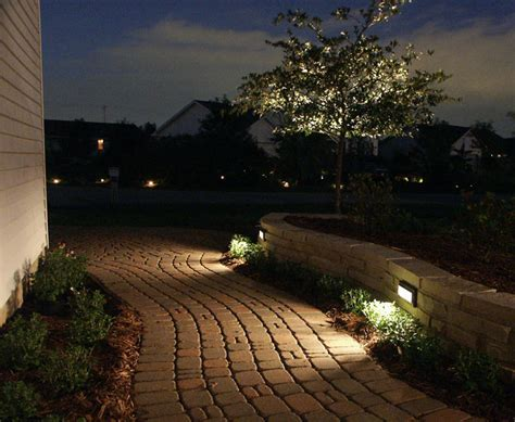 Landscape Wall Lighting Landscape Lighting In Wall On Path Landscape Rev Pinterest Front Yards