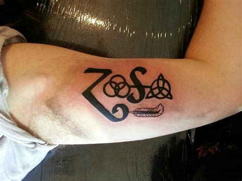 zoso tattoo designs 30 best chaos symbols images on ideas