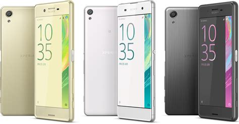 Sony As Series sony unveils new xperia x smartphones
