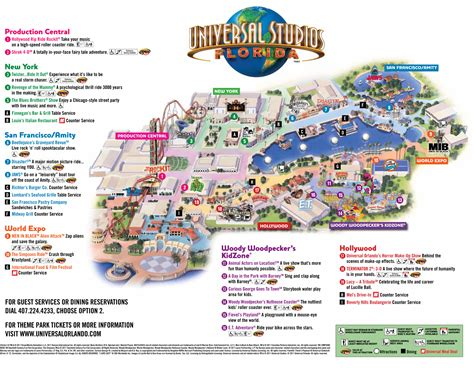 printable maps universal studios orlando universal park map florida visit ideas pinterest