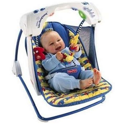 take along baby swing fisher price deluxe take along baby swing 79618 reviews