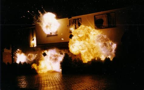 House Explosion by Pyrotechnics All Effectsall Effects