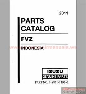 Isuzu Parts Catalogue Isuzu Fvz Parts Catalog Engine 6hk1 Tcs 2011 Auto