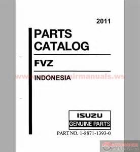 Isuzu Parts Catalog Isuzu Fvz Parts Catalog Engine 6hk1 Tcs 2011 Auto