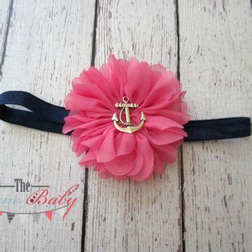 Headband Baby Navy Quality shop anchor headband on wanelo