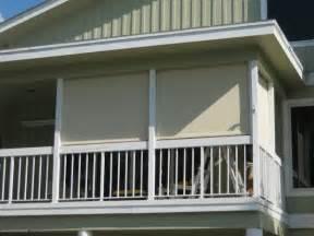 screen balcony solar shade screens drop curtains palm harbor fl