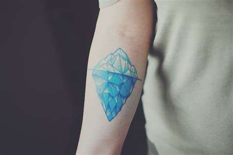iceberg tattoo iceberg color colour