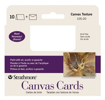 canvas cards strathmore artist papers - Photo Canvas Gift Card