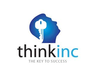 design thinking logo think inc designed by artmart brandcrowd