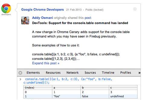 chrome developer console chrome devtools overview chrome