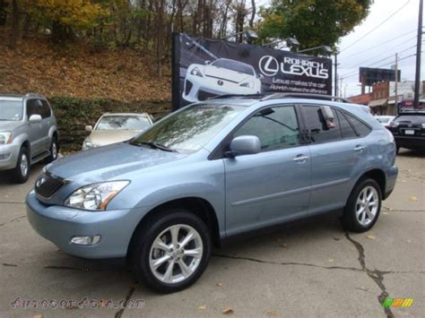 blue lexus rx 2009 lexus rx 350 awd in breakwater blue metallic 129944