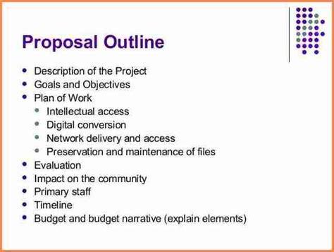 8 network project proposal example project proposal
