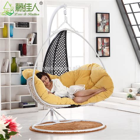 how to hang a swing chair indoors indoor rattan hanging chair swing buy hanging chair