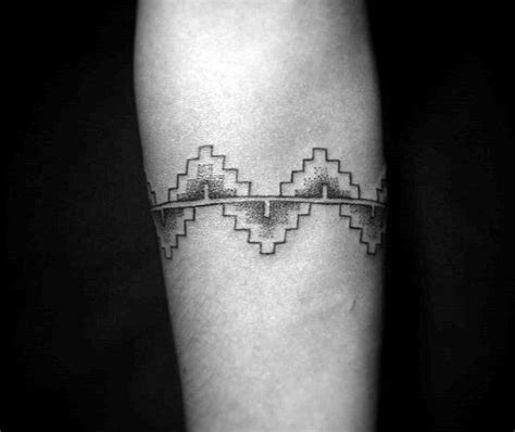aztec armband tattoo designs 70 armband designs for masculine ink ideas