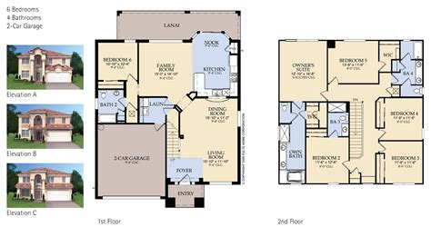 family homes plans single family house plans