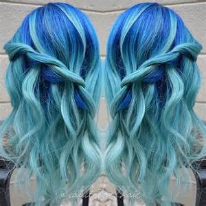 aquamarine hair color 20 icy light blue hair ideas