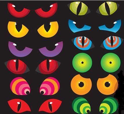 printable witch eyes spooky halloween eyes clip art 47