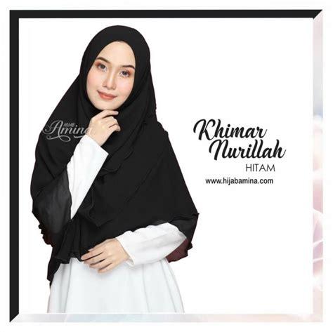 Khimar Sameera Dusty Pink Zelena khimar nurillah black hijabamina