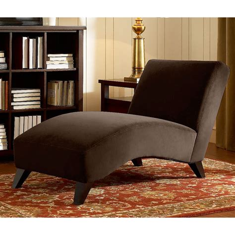 Brown Chaise Lounge Chairs by Chaise Lounge Chair Provides Ergonomic Support So