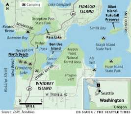 Deception Pass State Park Map by Deception Pass Map For Pinterest