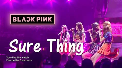 blackpink sure thing mp3 blackpink sure thing miguel cover hq audio youtube