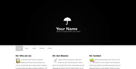 clean and minimal html template by guus themeforest