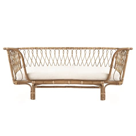 rattan daybed modern comfortable garden furniture patio rattan daybed