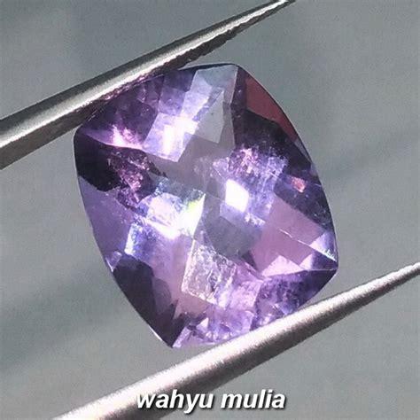 Batu Permata Amethyst Ungu batu akik permata kecubung ungu amethyst quartz asli kode