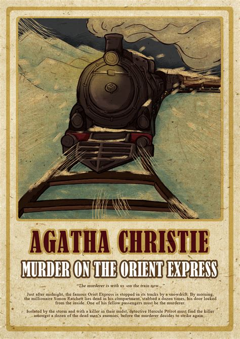 Novel Murder On The Orient Express Cover Agatha Christie the pop up book of murder on the orient express on behance