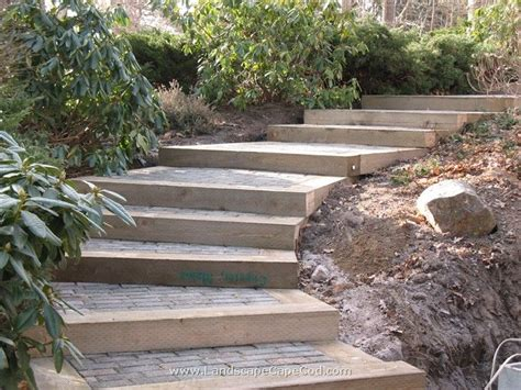 landscape railroad ties 25 best ideas about landscape timber edging on wood edging landscape timbers and