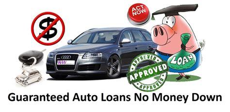 guaranteed car loans with low guaranteed auto loans no money helping low budget