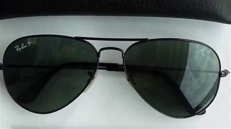 spot ray ban aviators sunglasses authenticity youtube