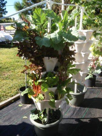stacky  tiered vertical gardening planter indoor