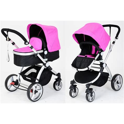 Jogger Lab Jogger Basic Baby Pink baby pram jogger w bassinet in pink black buy prams strollers