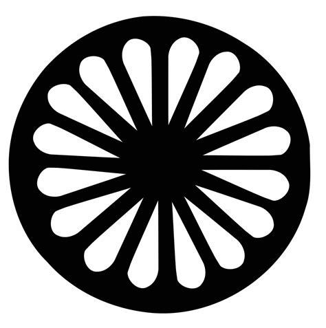 imagenes de simbolos gitanos file logoruota romani svg wikimedia commons